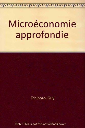 Microéconomie approfondie
