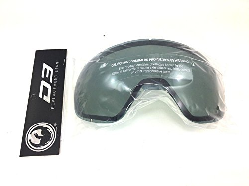 Drachen-Schnee Goggle-Objektive Dunkle Rauch D3 OTG Ersatzlinse 35308-200