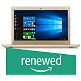 (Renewed) Lenovo Ideapad 520 81BF00K8IH 15.6-inch Laptop (Core i5-8250U/8GB/2TB/Windows 10 Home/4GB Nvidia GeForce MX150 Graphics), Golden