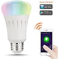 LOHAS® smart LED lampadina E27, 9W Equivalente 60W, 810lm, dimmerabile, Controllabile via App, Impostazione della scena, La vita intelligente, Per prima cosa selezionare Smart Home