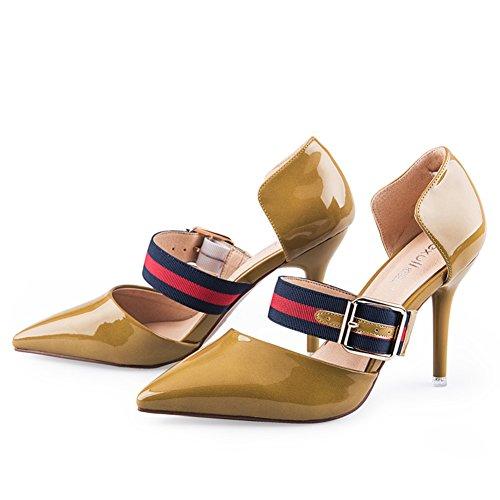 Pattini Aguzzi Di Modo Di Autunno/Ladies High Heels/Scarpe A Spillo Sottile A