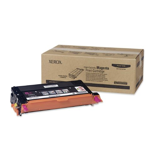 Top Xerox Tektronix Phaser 6180 6180N 6180DN – laser toner cartridge – high capacity – 1 x magenta – 6000 pages – 113R00724 (113R724) on Line