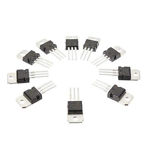10 Stück TIP120 NPN TO-220 Darlington Transistor-Feld-Effekt-Transistor, 10 Stück