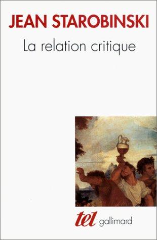 La Relation critique