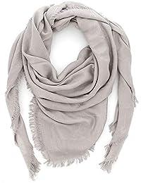 Emporio Armani Foulard sciarpa donna 632309 8P418 00240 grigio perla 83030d45c3d4