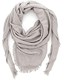 Emporio Armani Foulard sciarpa donna 632309 8P418 00240 grigio perla 13553c049d2c