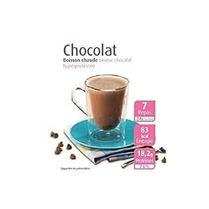 Efféa - Boite De 7 Sachets De Proteines Effea Slim Boissons Chaudes Chocolat