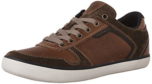 Geox Herren U Box C Low-Top Braun (Browncotto/brownc0235)