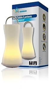 Lanterne LED de table durable, idéale pour le camping ou la maison par HQ