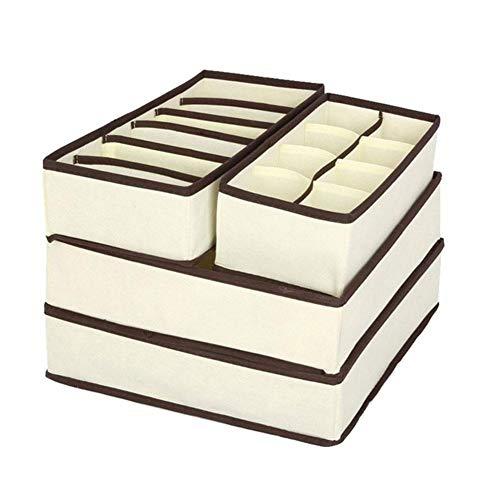 Unterwäsche Organizer Box, 4 Stück - 10,49 EUR