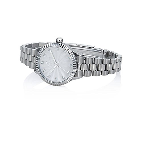 Orologio Donna Luxury Diamonds Silver 2569LD-S02 - Hoops