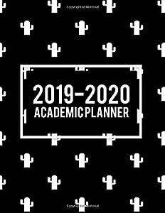 "planes de diseño web: 2019-2020 Academic Planner: Beauty Black Book, 8.5"" x 11"" Two year Planner Acade..."