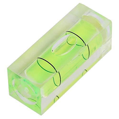 5 stücke 15 * 15 * 40 MM Mini Blase Qualitätsniveau Quadrat Blase Messwerkzeug für Kleine Ebene Winkeleinstellung Instrument Balance