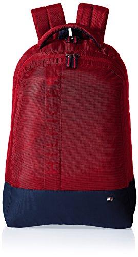 Tommy Hilfiger Biker Club - Basil 21.6 ltrs Red Casual Backpack (TH/BIKOL04BAS)