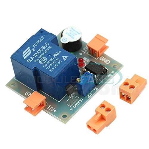 Akku-Schall Licht Alarm verhindern über Entlade Regler 12V NiederSpannung