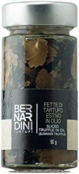 Fette di tartufo estivo (Tuber aestivum Vitt.) in olio 90gr - Bernardini Tartufi