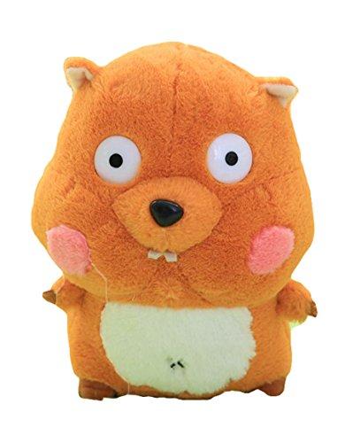 Good Night Jouet animal bourré peluche d'écureuil, cadeau de Noël de charme pour des enfants