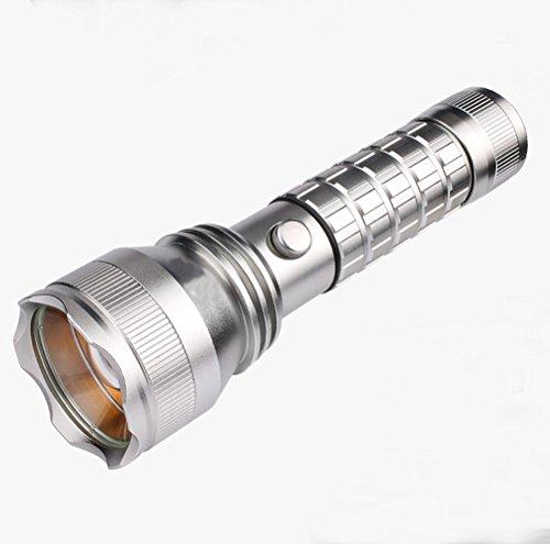 GJY LED TASCHENLAMPELed-Taschenlampe Wiederaufladbare Suchscheinwerfer Portable Licht Fern-Fernbedienung Im Freien Zu Hause Xenon Mini , White,white (Fernbedienung Segelboot)