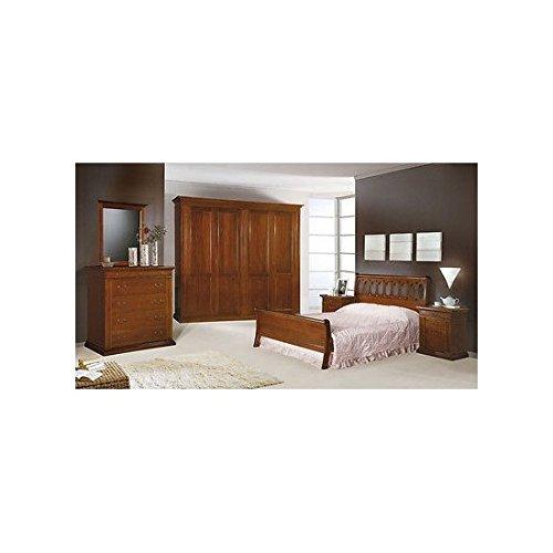 Estea mobili - camera matrimoniale completa legno massello - 110747203098