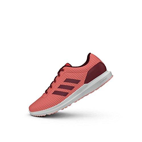 adidas Cosmic W, Chaussures de Tennis Femme Rouge (Rosbas/buruni/suabri)