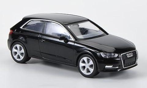 Audi A3 (Typ 8V), met.-schwarz, Modellauto, Fertigmodell, Herpa 1:87