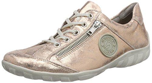 Remonte Dorndorf R3408, Sneakers basses femme Rose - Pink (kupfer / 32)