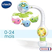 VTECH- Mobile TOURNI CUI Baby, 80-513105, Multicolore