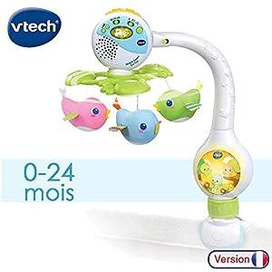 VTech Mobile tourni Cui Cui - Juegos educativos, Niño/niña, 2 año(s), Francés, AA, 302 mm