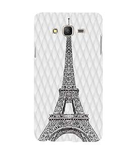 YuBingo Samsung Galaxy On7 Pro :: Samsung Galaxy On 7 Pro (2015) Designer Phone Back Case Cover ( Eiffel Tower )