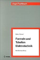 Formeln und Tabellen Elektrotechnik