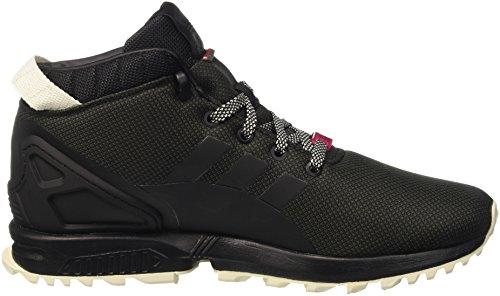 adidas Herren Zx Flux 5/8 Tr Turnschuhe Schwarz (Cblack/Utiblk/Cwhite)
