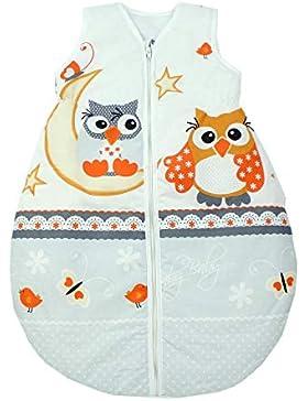 TupTam Unisex Baby Schlafsack ohne Ärmel Wattiert