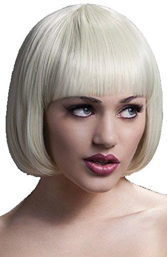 Damen Perücke mit Bobschnitt - Kurze Haare Blond Fever Farbe (Perücke Fever Mia)