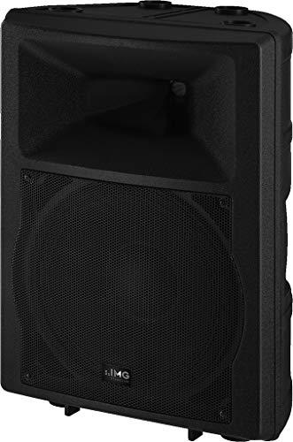 IMG STAGELINE PAK-112MK2 Aktive DJ- und Power-Lautsprecherbox 150 Watt schwarz