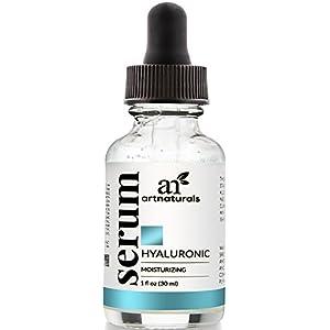 ArtNaturals Anti-Aging Hyaluronsäure-Serum - 30 ml - Feuchtigkeitsspendende Gesichtspflege für Falten und Altersflecken - Geeignet für jeden Hauttyp besonders für reifere Haut