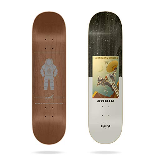 """Habitat NASA Collection Suciu 8.0"""" Skateboard Deck"""