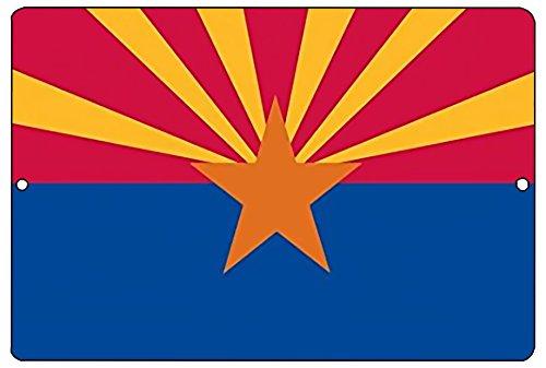 Rogue River Tactical Arizona State Flagge Metall blechschild Wand Decor Man Cave Bar AZ