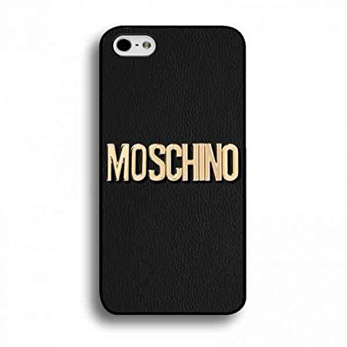 BILMARY AGUILA Fashion iPhone 5/5s/SE Phone Case- [TPU/Silicone Soft Shell] - for iPhone 5/5s/SE Phone Cases (Moschino Iphone 5)