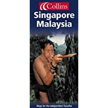 Carte routière : Malaysia - Singapore (en anglais)