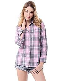 Blusas Camisetas Amazon Rosas Camisas Tops Puños Y es qxOwUA8