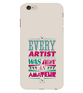 PrintVisa Designer Back Case Cover for Apple iPhone 6s Plus :: Apple iPhone 6s+ (Quote Love Heart Messages Crazy Express Sorry )