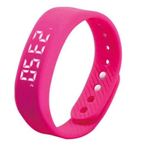 BOKUAN Smartwatch,3D LED Orologio Fitness Tracker Cardiofrequenzimetro da Polso Smartwatch Android iOS Uomo Donna Contapassi Calorie Sport Corsa Smart Watch Braccialetto Pedometro