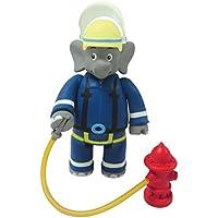 Jazwares Benjamin Blümchen Figur, bewegliche Spielfigur ca. 9 cm groß, detailgetreue Gestaltung, mit tollen Accessoires