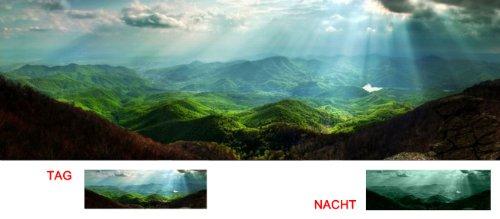 images-sur-toile-motif-carpates-startonight-40-cm-x-120-cm-nature-tableaux-pour-la-mur-encadres-pret