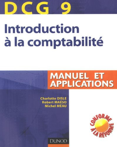 Introduction comptabilité DCG9 : Manuel et applications