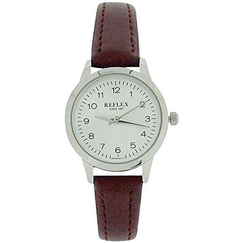 reflex-ladies-analogue-silvertone-dial-brown-pu-strap-watch-ref0037