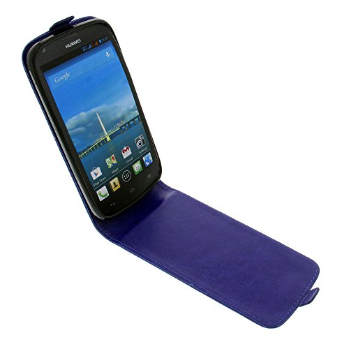 foto-kontor Tasche für Huawei Ascend Y600 Smartphone Flipstyle Schutz Hülle blau