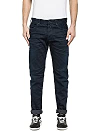 Replay Men's Men's Dark Blue Jeans
