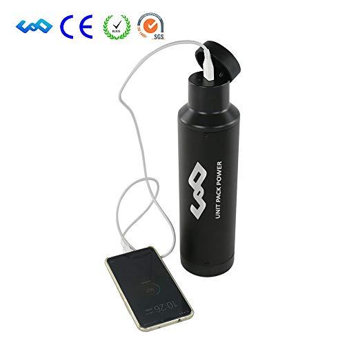 uppcycle E-Bike Lithium Battery, 36V 10.5AH Water Bottle Battery + USB Port + 42V 2A Charger, Fit 500W Motor (36V 10.5AH-Sanyo Cells)