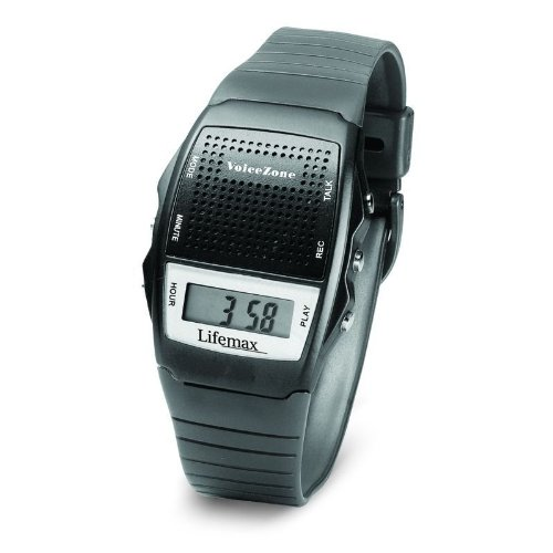 Lifemax Talking Memo Watch Black 428BLK
